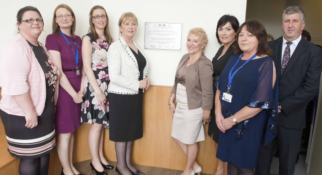 Professor Mary McAleese Officially Opens new Family Room and Refurbished Mortuary Viewing Room in RUH