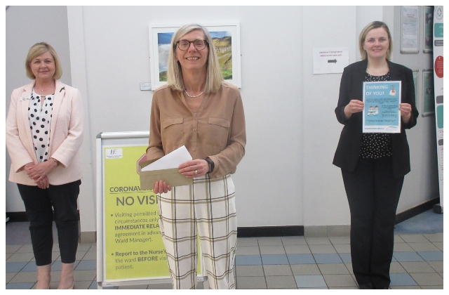 'Thinking of You' Initiative introduced at SUH to keep patients and families connected during COVID-19