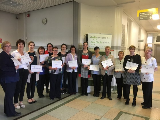#hellomynameis: A compassionate care initiative for Roscommon University Hospital